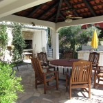 Villa Punta Livei, patio