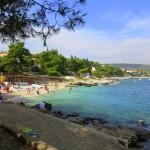 пляж в бухте Маварштица остров Чиово Хорватия