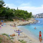 пляжи в Хорватии южная сторона острова Чиово