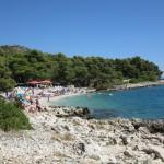 Белый пляж остров Чиово Хорватия