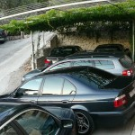 апартаменты в Хорватии паркинг
