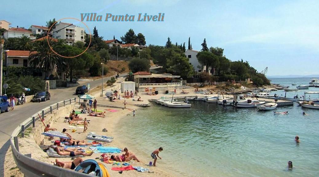 Аренда виллы у моря в Хорватии на острове Чиово, Трогир, Округ Горний