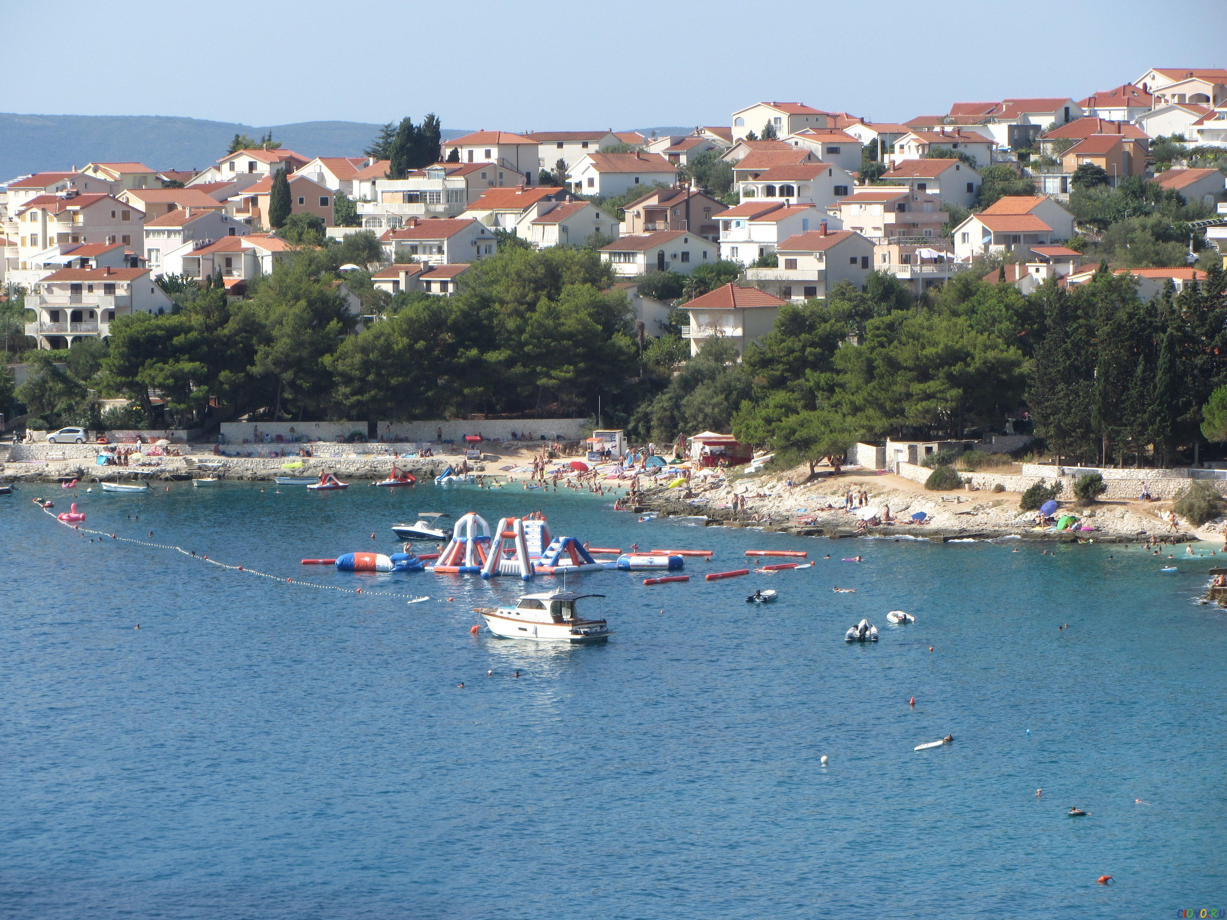 beach in Okrug Gornji Croatia