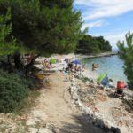 White Beach Ciovo Island